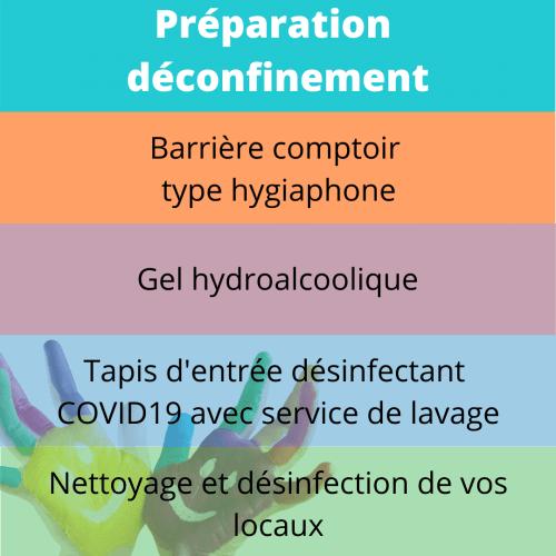 désinfection covid19 tapis gel hydroalcoolique